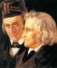 Deutsche Märchenerzähler Jacob und Wilhelm Grimm