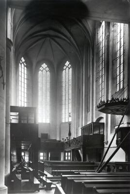 Hoher Chor vor dem Umbau 1927 (Foto Marburg)