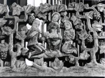 Geburt Christi - Detail aus dem Lettner