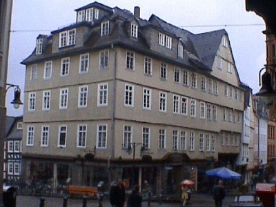Haus Ecke Barfueßerstrasse/Heumarkt