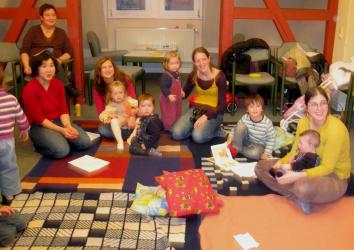 Krabbelgruppe im Philippshaus