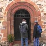 Eingang Calderner Kirche