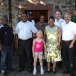 Unsere Gäste aus Moretele/Südafrika
