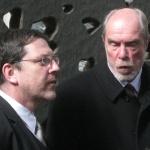 Landeskirchenmusikdirektor Maibaum und Orgelbauer Spath