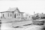 Bahnhof Dreihausen an der Marburger Kreisbahn (1920er Jahre)