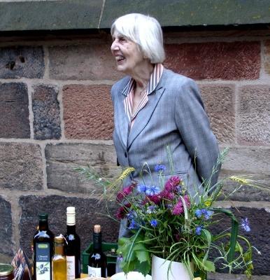 Christa Pfeifer bei der Nacht der Kirchen 2009