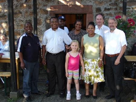 Besuch aus Moretele 2009