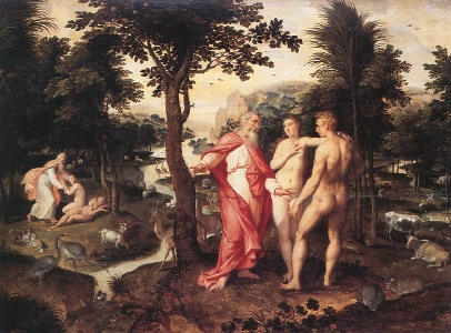 Jakob de Backer (1555/60-1585/90, Antwerpen) - Garten Eden