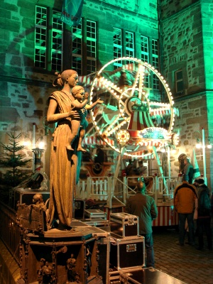 Marburg, Markt, Advent 2009