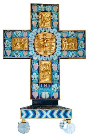 Altarkreuz der Universitätskirche (Prof. Rickert/München)