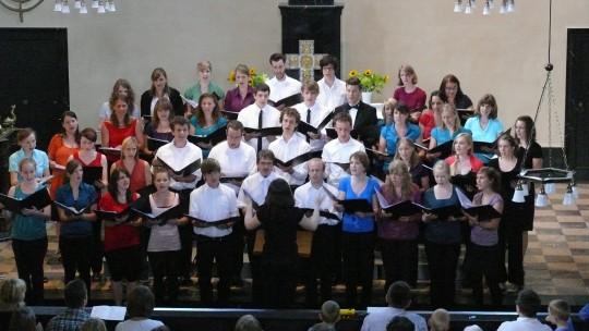 Der ESG-Chor in der Universitätskirche