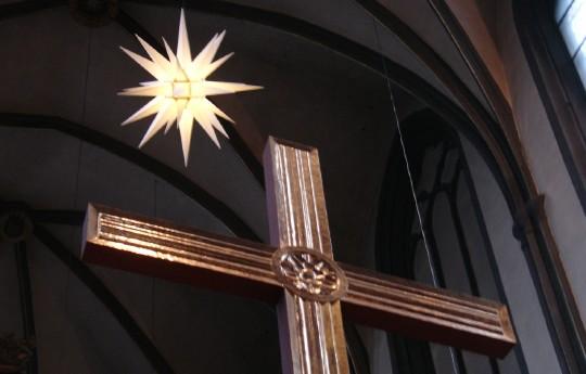Weihnachten in der Universitätskirche (Foto: Jörg Rustmeier)