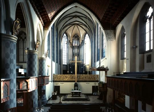 Innenraum seit 1927 (Foto: Horst Fenchel)