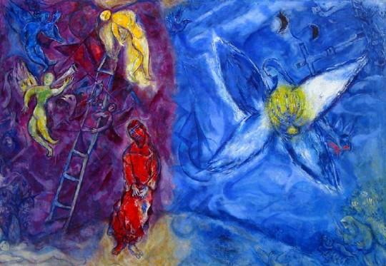 Chagall - Jakobs Traum