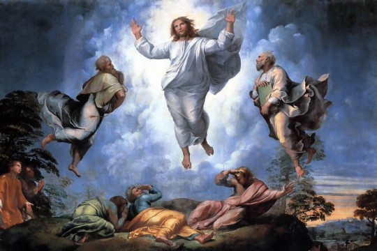 Raphael - Verklärung Christi (Detail, Vatikanische Pinakothek)