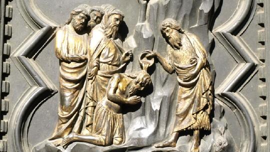 Baptisteriumsportal in Florenz