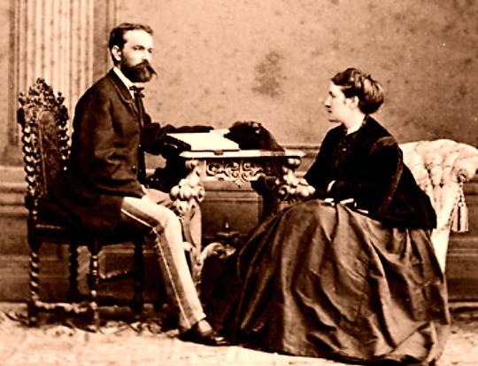Josef und Fanny Rheinberger