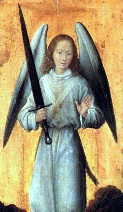 Hans Memling (ca. 1433-1494): Erzengel Michael (1480)