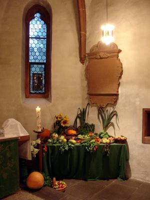 Erntedank in St. Jost