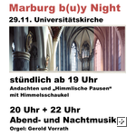 Universitätskirche by Night