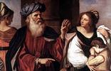 Nach der Intrige Sara verstößt Abraham Hagar mit Ismael