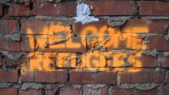 Welcome Refugees - Willkommen, Flüchtlinge