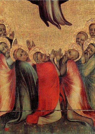 Himmelfahrtsbild vom Netzer Altar (um 1370)