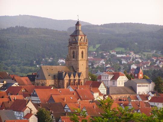 Bad Wildungen - Altstadt (Foto: Klaus Stricker / picelio.de)