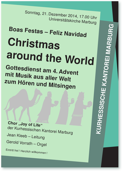Plakat Christmas around the World