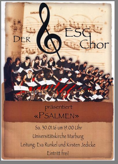 ESG-Chor Psalmen