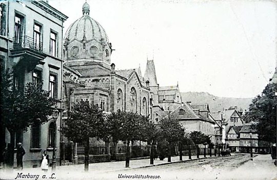 Synagoge Marburg in der Universitätsstraße